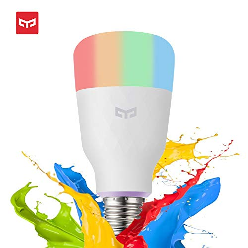 Yeelight Bombilla LED E27,Original WiFi Bombilla 10W 800lm...