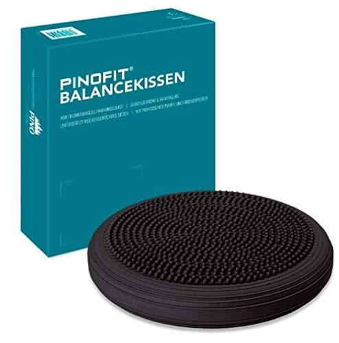 PINOFIT Balancekissen Dark Grey - Dunkelgrau - Neues Modell - Durchmesser ca. 33 cm - 43142