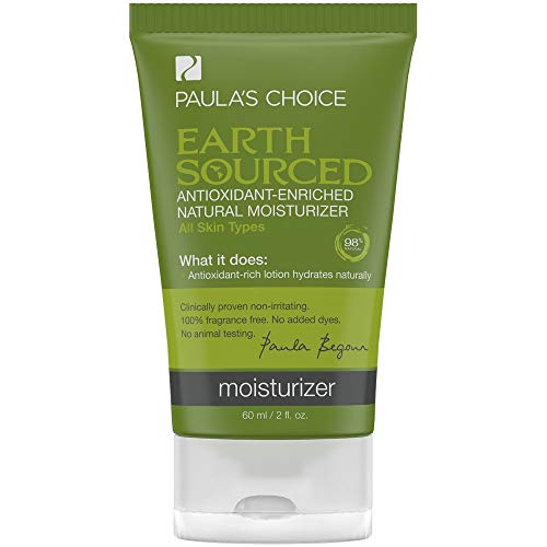 Paula's Choice EARTH SOURCED Antioxidant Enriched Natural Moisturizer with Shea Butter & Vitamin E, 98% Natural & Fragrance Free, 2 Ounce
