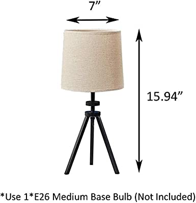 Lite Source LS-22797 Macyn Table Lamp 13.0 x 13.0 x 22.5 Aged Rust//Off-White