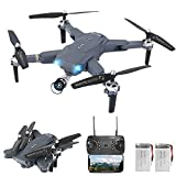 3T6B Drone con Telecamera, Drone al Passaggio del Mouse Migliorato, Antenna Fissa a 4 Assi Antenna...