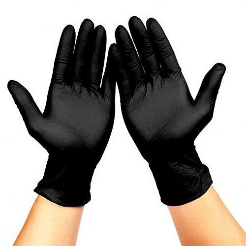GXDFHST Guantes Desechables de látex 100pcs Lavavajillas Trabajos de jardinería de Goma Blanca Universal de Cocina for Hombres y Mujeres XS XL (Color : C-1, Size : M)