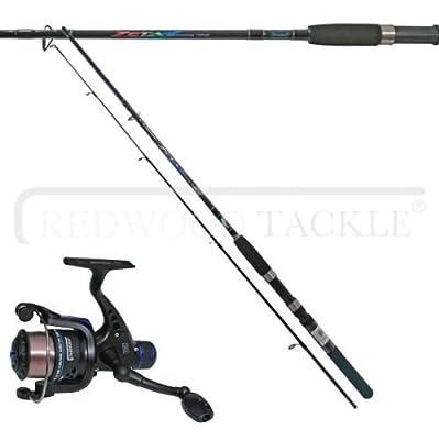 Shakespeare zeta spinning Fishing rod 6.5 FT & Oakwood RD30 Reel With Line