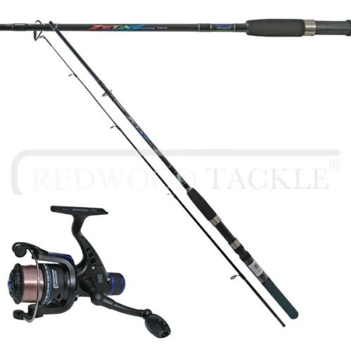 Shakespeare zeta spinning Fishing rod 6.5 FT & Oakwood RD30 Reel With L