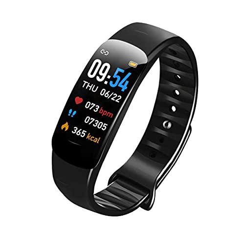 Smartwatch, Fitness Tracker Uhr, Fitness Tracker mit Pulsmesser, Schlafmonitor, IP67 wasserdichte Sportuhr für Damen Herren