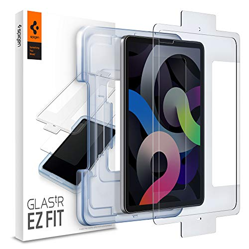 Spigen EZ Fit Tempered Glass Screen Protector for iPad Air 4 2020 and iPad Pro 11-1 Pack