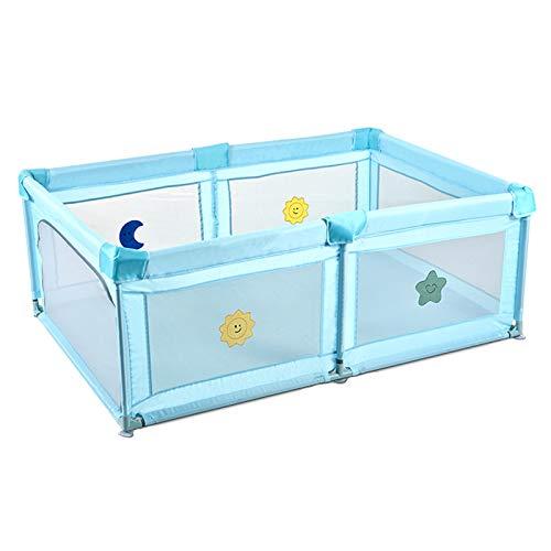 Sufei - Parque portátil para bebé, para niños y niñas, 120 x 180 cm, malla transpirable
