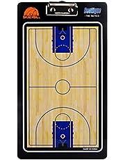 LIOOBO Tablero de Entrenamiento de Baloncesto Pizarra de borrado en seco Portapapeles de Doble Cara para el béisbol Fútbol Fútbol Hockey Lacrosse o Voleibol