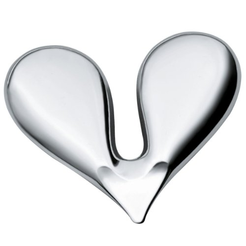 Alessi Nussknacker Nut Splitter in Herzform aus Edelstahl - JHT01