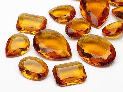 gogoritas Pierres de gemme de Optima 13-25mm (Topaz Form Mix), 30 Pièces