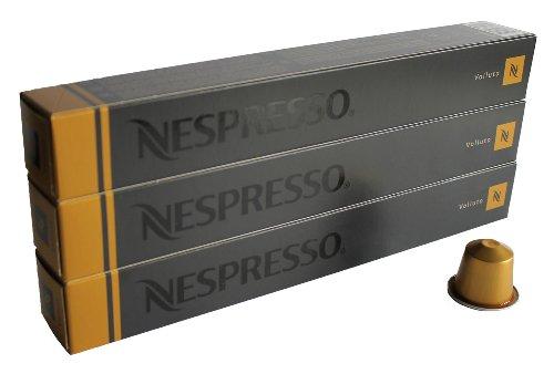 Nespresso Kapseln Aurrea – 30 x Volluto – Original Nestlé – Espresso Caffe
