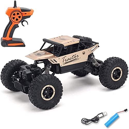 Moerc Control Remoto Coche de Escalada Vehículo Bigfoot 2.4GHz Camión de Control Remoto 1:14 Escala de Carreras de Alta Velocidad Coches de Rocas eléctricas de RTR para niños y Adultos