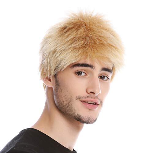 WIG ME UP - WL-3045-24B Perruque homme courte coupe en brosse blonde