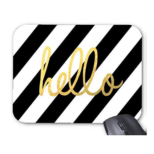 Alfombrilla para ratón con diseño de Hello Design de Kate Spade dorado