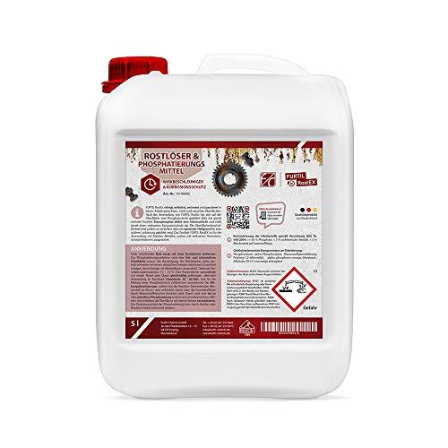 Furth Chemie, Rostlöser/Phosphatierungsmittel, Rostumwandler & Rostentferner (10 L)