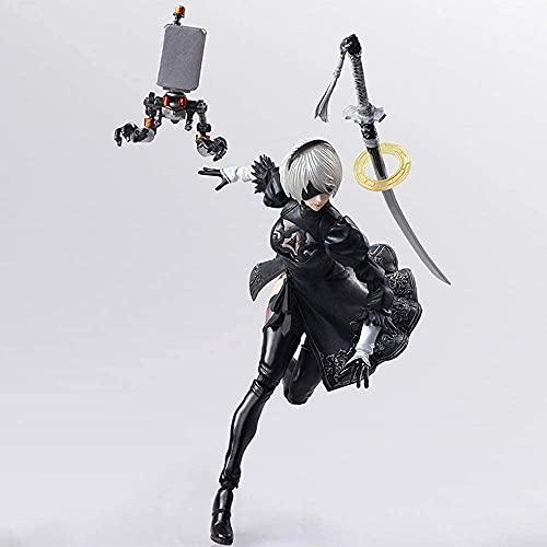 Lupovin Square Enix Nier Automata Bring Arts 2B Machine Lifeform Action...