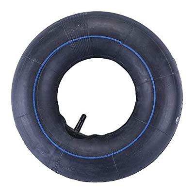 16X6.50-8, 16X7.50-8 Inner Tube for Lawn Mower, Snow Blower, ATV, Farm Tractor, Wheelbarrow, Trailer Implement - Heavy-Duty Replacement Inner Tube with TR-13 Straight Stem Valve