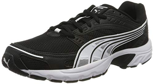 PUMA Axis', Scarpe Sportive Indoor Unisex-Adulto, Nero Black White, 40.5 EU