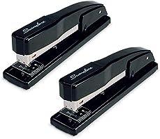 Swingline Stapler, Commercial Desktop Staplers, 20 Sheet Capacity, Portable, Durable Metal Desktop Stapler for Home...