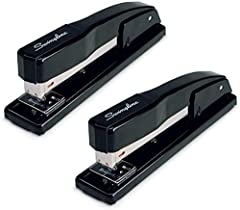 DURABLE METAL STAPLER: Sturdy stapler with all metal construction is designed for durability; A specially crafted inner rail delivers jam resistant, accurate stapling you can count on DESIGNED FOR DESKTOP: The stapler is designed for desktop use. It ...