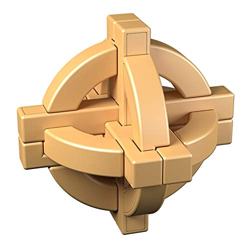 Cubo de Rubik - Luban Bola Kongming Bloqueo Cubo de Rubik - de los Hijos Adultos educativos Juguetes de la diversión Juguetes educativos del Cubo de Rubik (Color : 13)