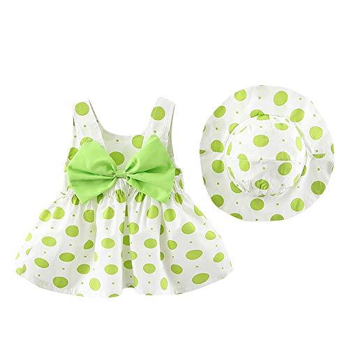 Vestido de tutú de verano para recién nacidos, sin mangas, sin espalda,...