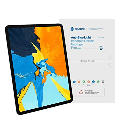 Gadget Collection Mx Mica Nano Hidrogel Anti Blue Ligth para iPad Air 4, Air 3, Pro 11 (2020), Pro 11 (2018), iPad 10.2', iPad Mini 5, iPad 6, iPad 7, iPad 8, iPad Mini - iPad Pro...