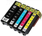 5(Set complet) compatible Epson 33x l Cartouches d'encre pour Epson Expression...