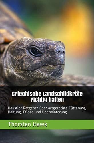 Griechische Landschildkröte richtig halten: Haustier Ratgeber über artgerechte Fütterung, Haltung, Pflege und Überwinterung