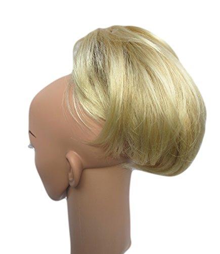 Vanessa Grey Hair Designs Extensions capillaires à clip Cheveux courts effet queue de lapin