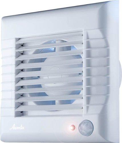 Badlüfter Lüfter Ventilator mit Bewegungsmelder & Jalousie 100mm A-Matic