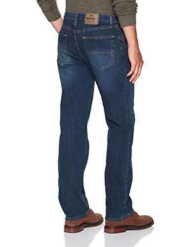 Wrangler Authentics Men's Classic 5-Pocket Regular Fit Jean, Twilight Flex, 38W x 29L