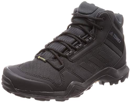 Adidas Terrex AX3 Mid GTX, Zapatillas de Deporte Hombre, Negro (Negbás/Negbás/Carbon 000), 43 1/3 EU