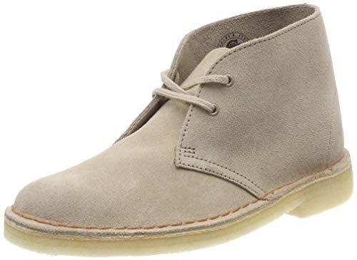 Clarks Originals Boot, Stivali Desert Boots Donna, Beige (Sand Suede-), 39 EU