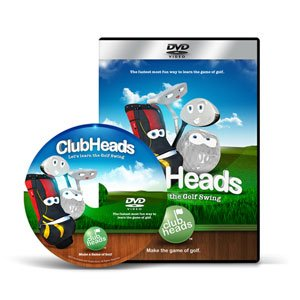 Club Heads Let's Learn The Golf Swing (DVD)