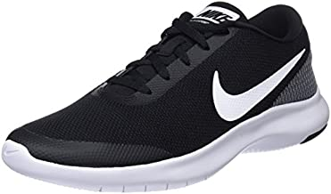 Nike Mens Flex Experience rn 7 Fabric Low Top Lace Up, Black/White, Size 11.0