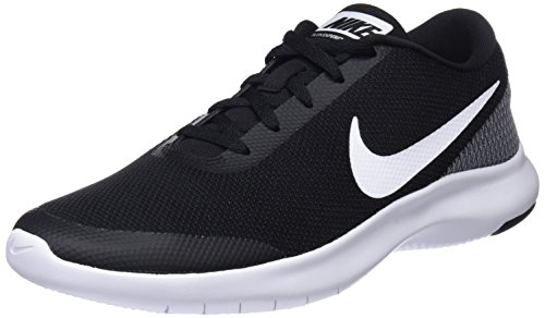 Nike Men's Flex Experience RN 7 Running Shoes (11 M US, Black/White)
