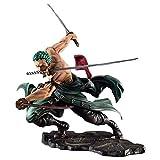 YURCNSA POP Roronoa Zoro Anime Action Figure One Piece Three Blades SA-Maximum Ver PVC Figures Character Collectible Model Statue Toys