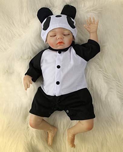 ZIYIUI 20 Pulgadas 50cm Reborn Muñecas Bebé Vinilo de Silicona Realista Hecho a Mano Bebés Reborn para Niñas Juguetes Bebe Reborn Juguetes Mejor Regalos de Cumpleaño