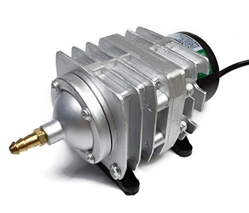 Hycy Compresseur d'air Électromagnétique D'aquarium Électrique De Compresseur d'air 220V 25W 45L / Min avec L'adaptateur De Prise Locale