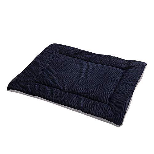 Colchoneta de felpa corta para dormir para perros pequeños, medianos y grandes, cálida manta para dormir (color: B, tamaño: S)