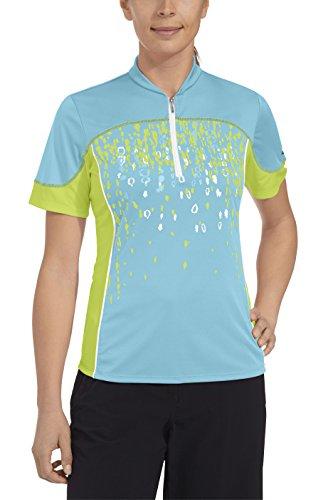 Gonso Damen Bike Shirt Jade, Bachelor Button, 38, 29050