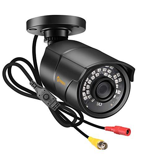 Anlapus 1080P HD Außen Metall Video Überwachungskamera TVI/CVI/AHD/CVBS 4-in-1 mit 30M IR Nachtsicht