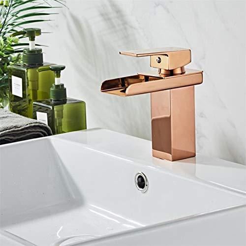XXYHYQHJD Basin Gold Rose Robinet Moderne lavabo...