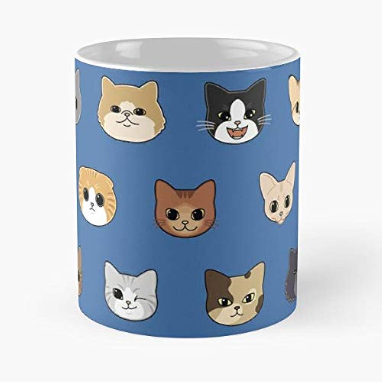Cat Neko Kitty Kitten -funny Gifts For Men And Women Gift Coffee Mug Tea Cup White-11 Oz.
