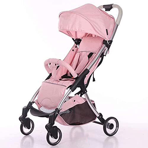 Cochecito de bebé Ligero recién nacido Carrito de bebé Cochecito de viaje para niños pequeños para niños pequeños Lightweight-stroller 2 en 1 Cochecito de bebé plegable de aluminio Cochecito caliente