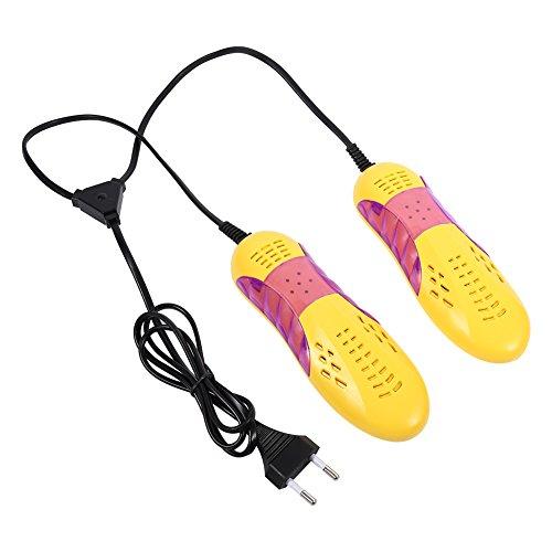 WNSC Asciuga Scarpe Asciuga Scarpe Elettrico Scalda Scarpe, Deodorante Dispositivo di deumidificazione Guscio in plastica Spina UE, Scalda Scarpe Voilet Scalda Scarpe Scalda Scarponi Leggero,