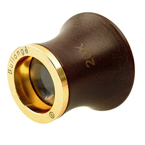 Lupa de relojero BULLONGÈ MaXXclear 20x con anillo de rosca