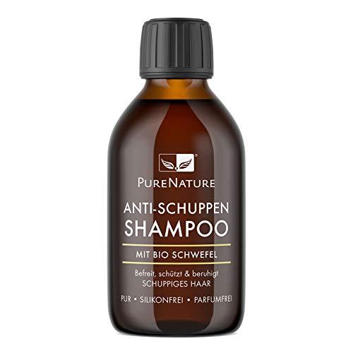 PureNature Anti-Schuppen Shampoo, Bio-Schwefel, 250 ml