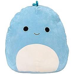 2. Squishmallow 16″ Brody The Blue Dino Ultrasoft Plush
